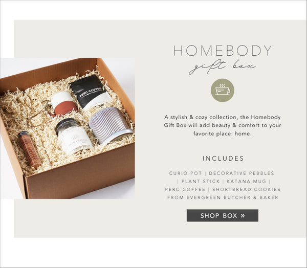 Gift Box - Homebody