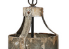 Aged Metal Pendant Light LOCAL ONLY