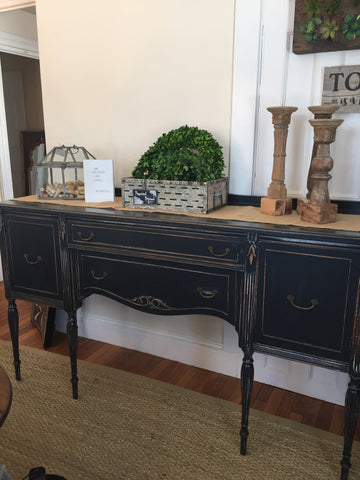 Stately Sideboard Buffet in Graphite