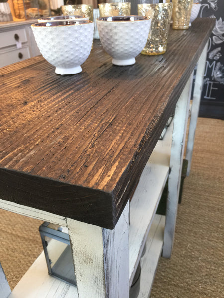 Console Table - Medium Distressed
