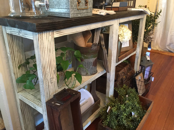 Console Table - Heavy Distressed