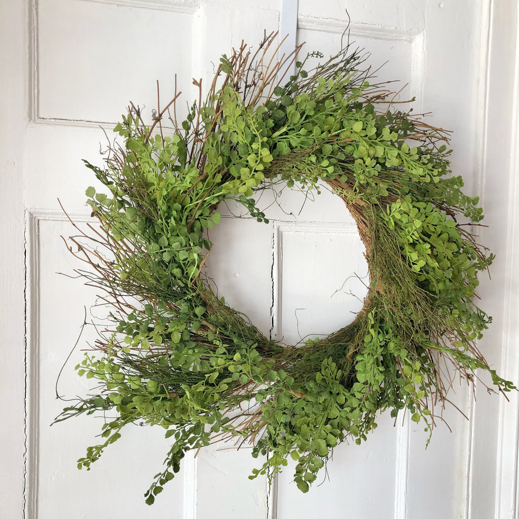 Fern Wreath, Large LOCAL ONLY
