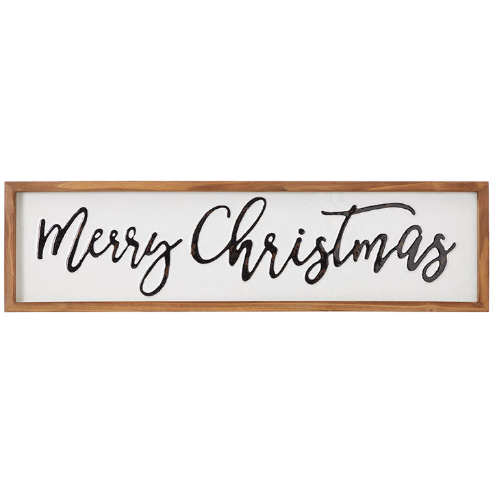 Merry Christmas Framed Wall Art LOCAL ONLY