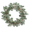 "26"" Ming Pine Wreath  Green Gray LOCAL ONLY"