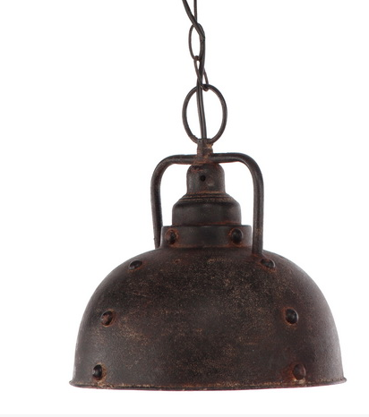 Industrial Pendant Light bronze weathered