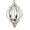 Distressed Teardrop Chandelier