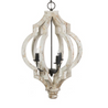 IN STORE ONLY - Distressed Teardrop Chandelier