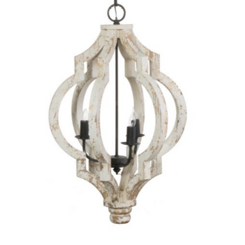 IN STORE ONLY - Distressed Teardrop Chandelier for $ 258.00