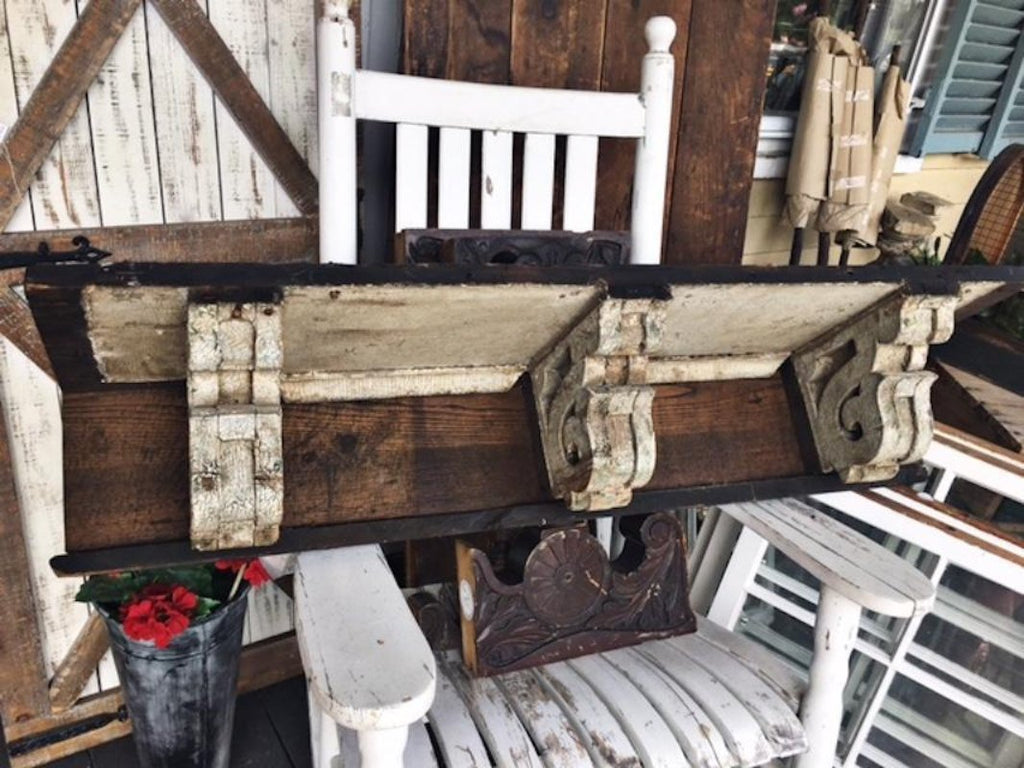 Antique Mantel Shelf
