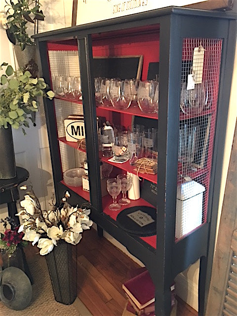 Black & Red Cabinet