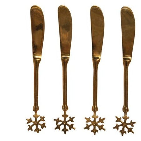 Brass Canape KnifeLOCAL ONLY