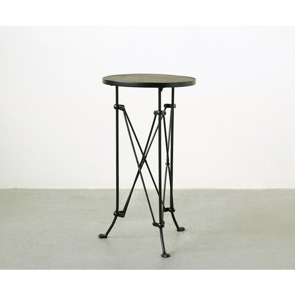Metal Table With Wood Top