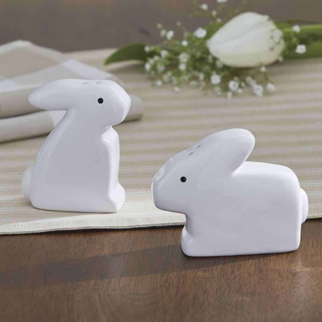 Bunny Salt & Pepper Shaker Set