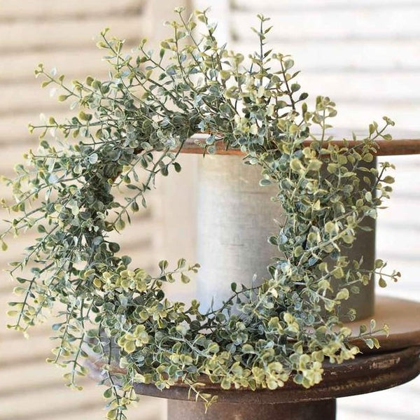 Sage Green Wreath, Medium LOCAL ONLY