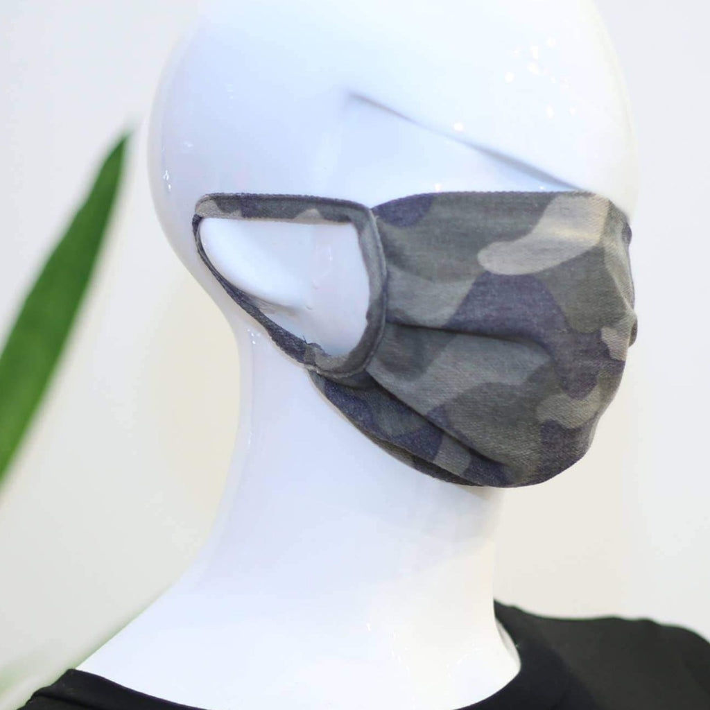 Camo Face Mask LOCAL ONLY