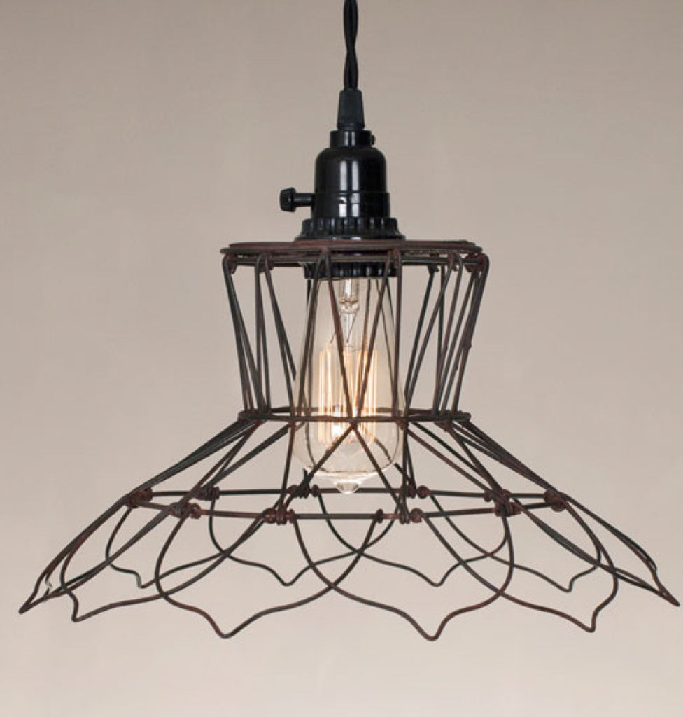 Vintage Wire Pendant Lamp Wiring A Ceiling