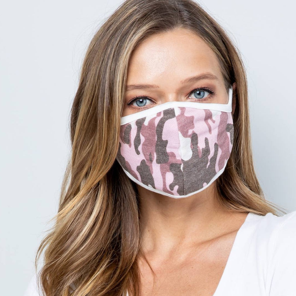Pink Camo Mask LOCAL ONLY