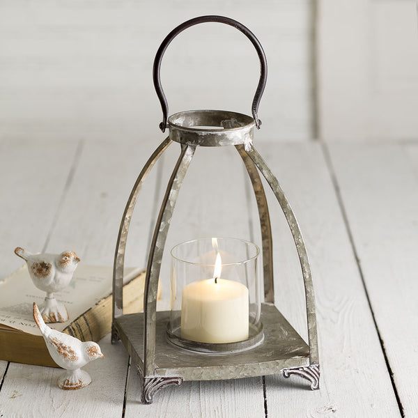 Galvanized Metal Lantern