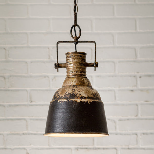 Distressed Industrial Pendant