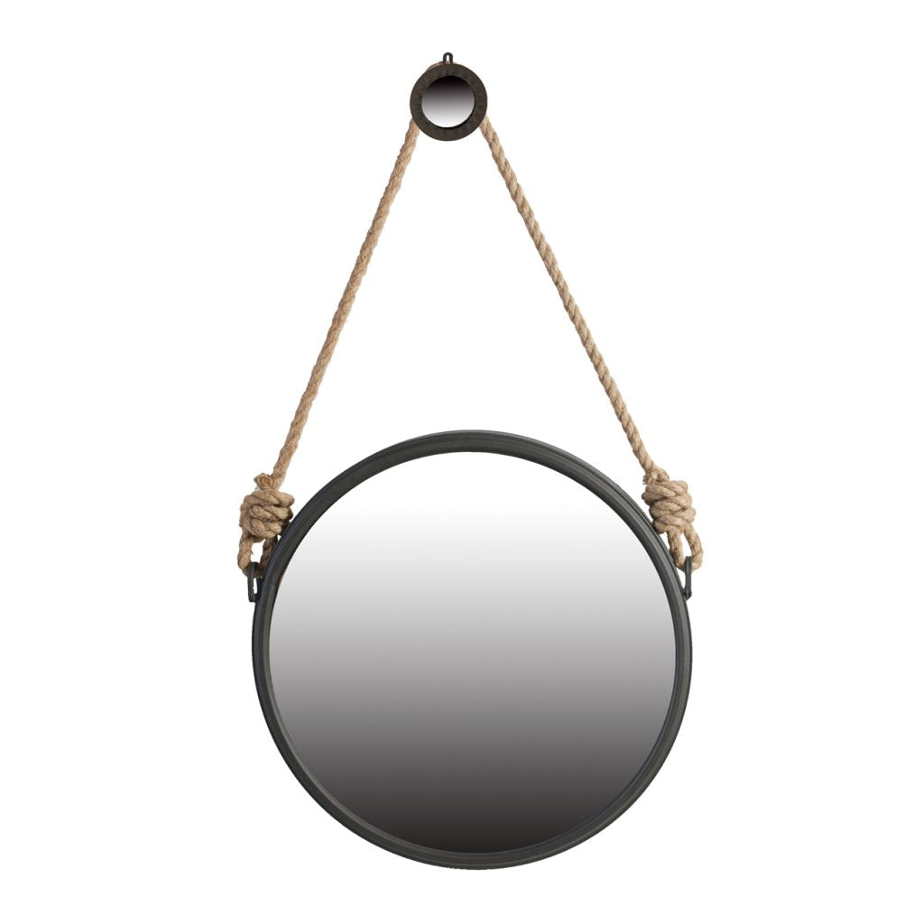 Round Rope Mirror, Large
