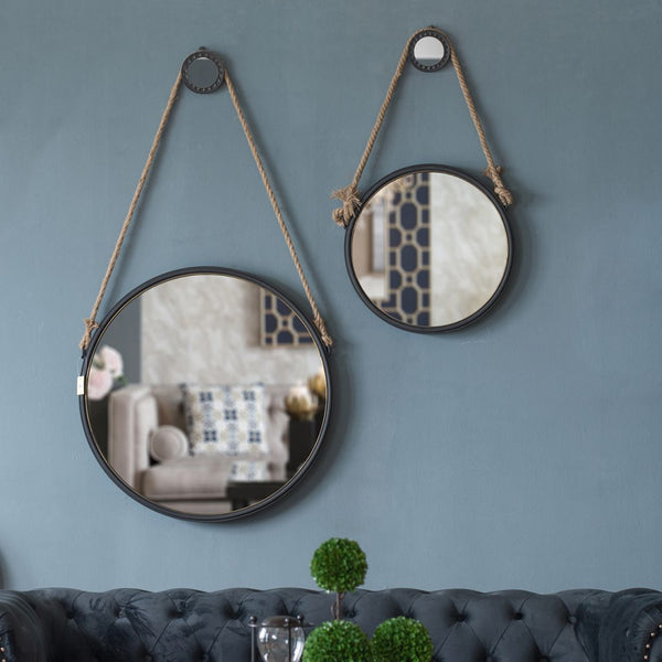 Rope Rope Mirror, Medium for $ 225.00