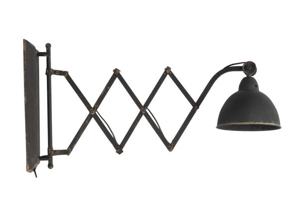 Industrial Wall Sconce, Set of 2