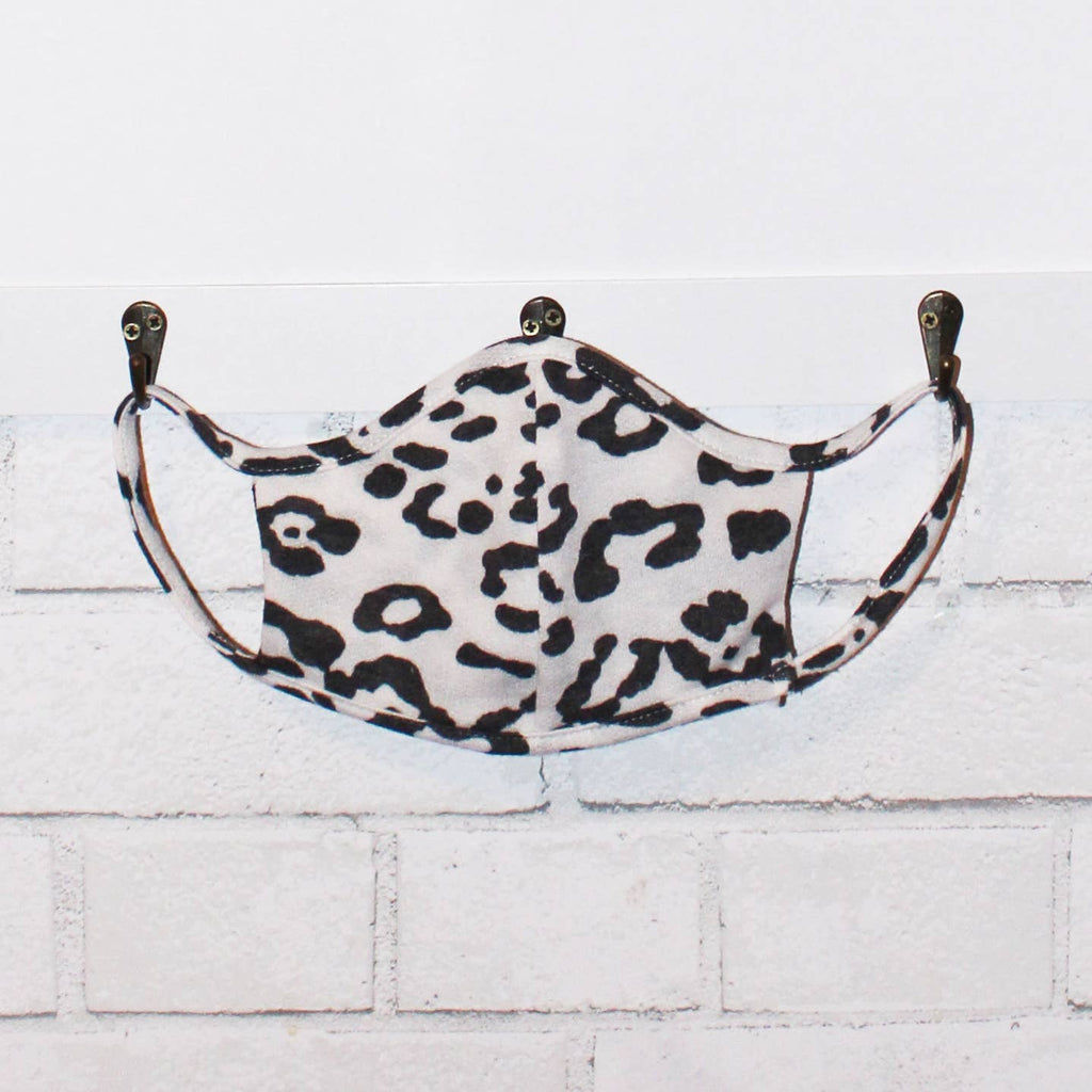 Leopard Face Mask LOCAL ONLY