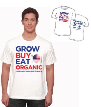 Grow, Buy, Eat Organic Unisex T-shirt