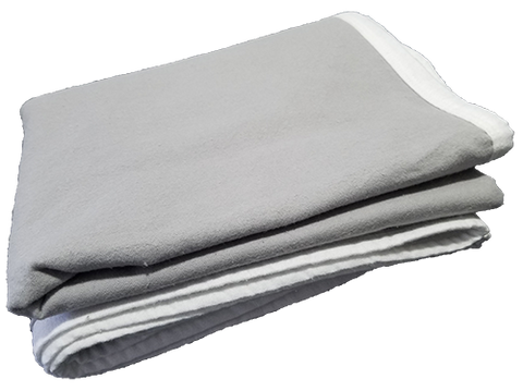 Grey Baby Shielding Blanket
