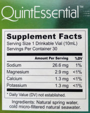 QuintEssential Minerals -  0.9 Strength - Moms Across America