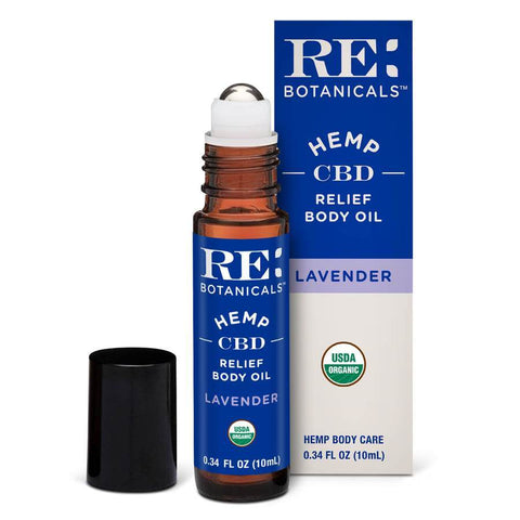 Relief Body Oil, Lavender