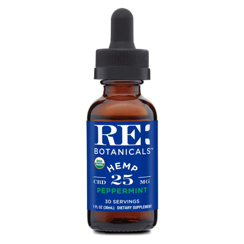 Organic 25mg/Dose Peppermint Tincture