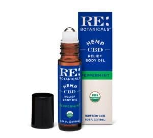Relief Body Oil, Peppermint