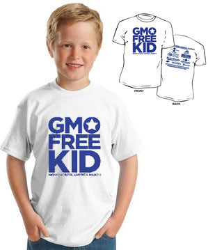 GMO Free Kid Youth T-shirt - Moms Across America