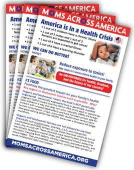 Toxic Burden Brochures - 100 Count - Moms Across America