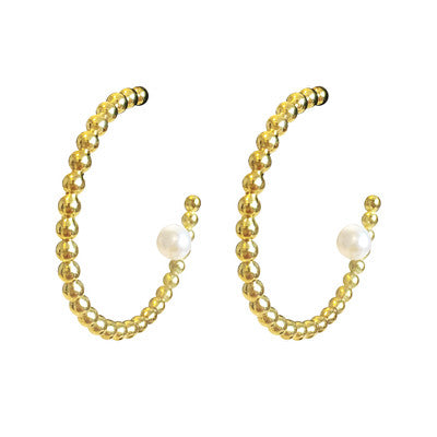 Dots Hoop Earrings