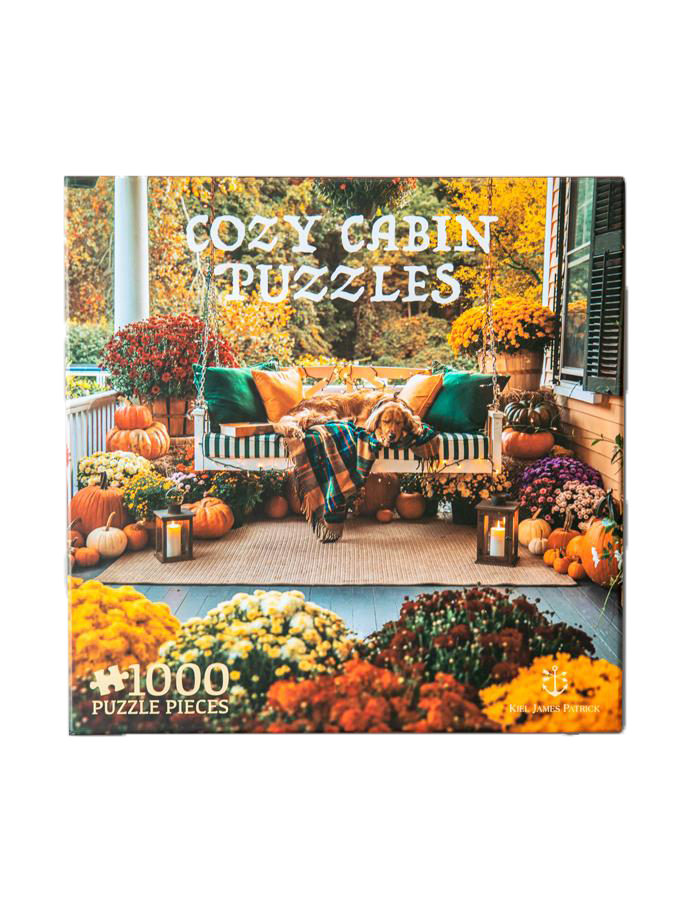 Cozy Autumn Porch Puzzle