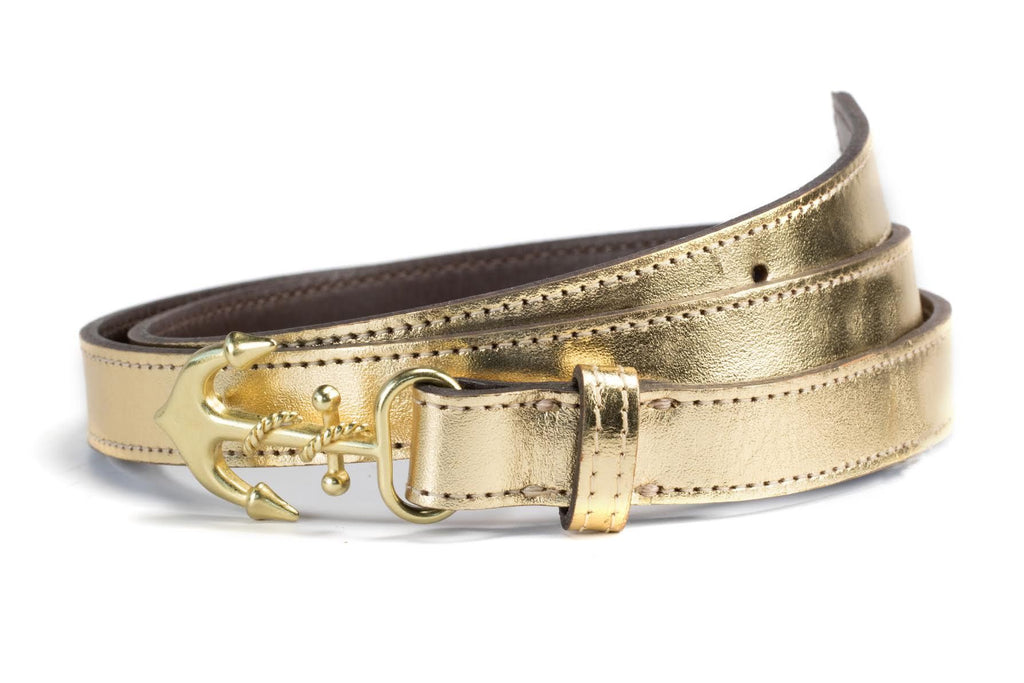 Golden Anchor - Kiel James Patrick Anchor Bracelet Made in the USA