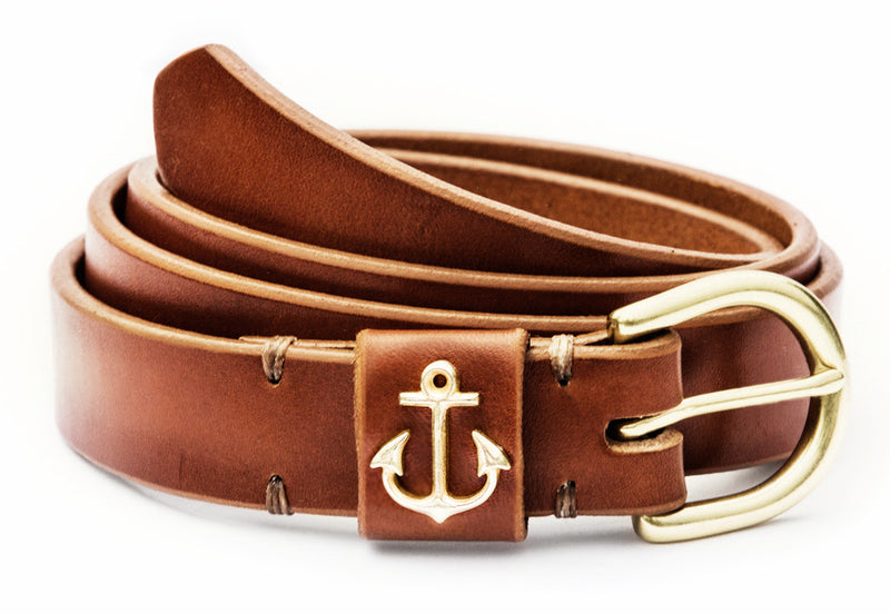 East Coast Sailor Belt - Kiel James Patrick Anchor Bracelet Made in the USA