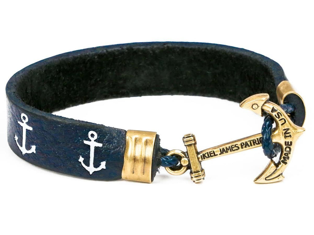 Anchors Up - Kiel James Patrick Anchor Bracelet Made in the USA