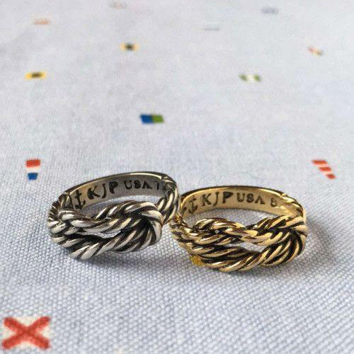 Antique Sailor Knot Ring - Gold