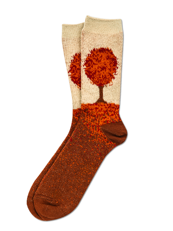 Autumn Leaf Socks