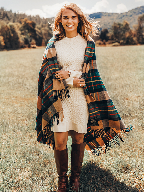 Autumn Knit Sweater Dress