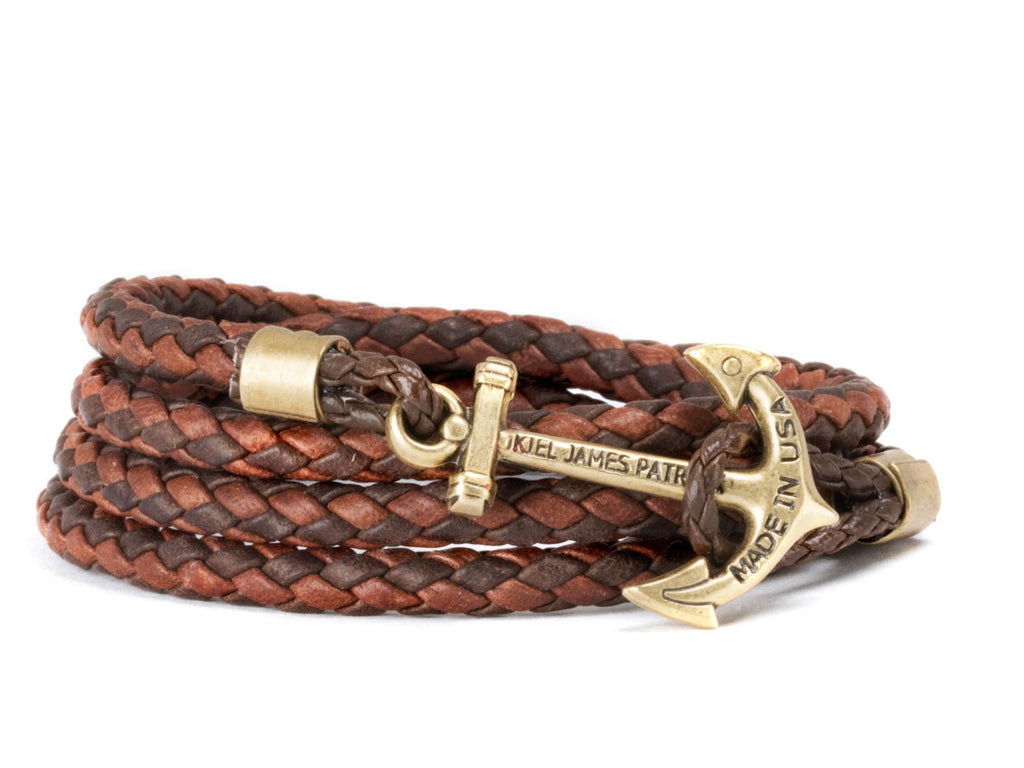 Autumn Canoe - Kiel James Patrick Anchor Bracelet Made in the USA