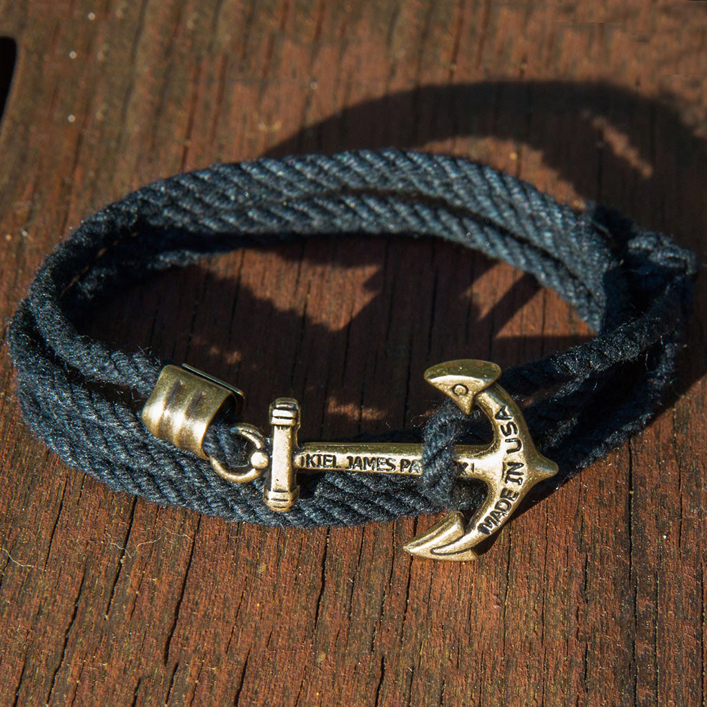 Aye Aye Captain - Kiel James Patrick Anchor Bracelet Made in the USA