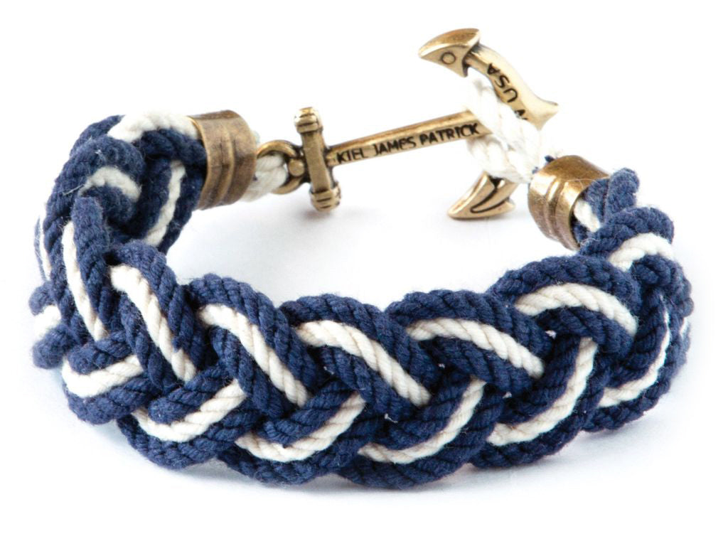 Blakes Yacht Club - Kiel James Patrick Anchor Bracelet Made in the USA
