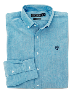 Newport Blue Oxford