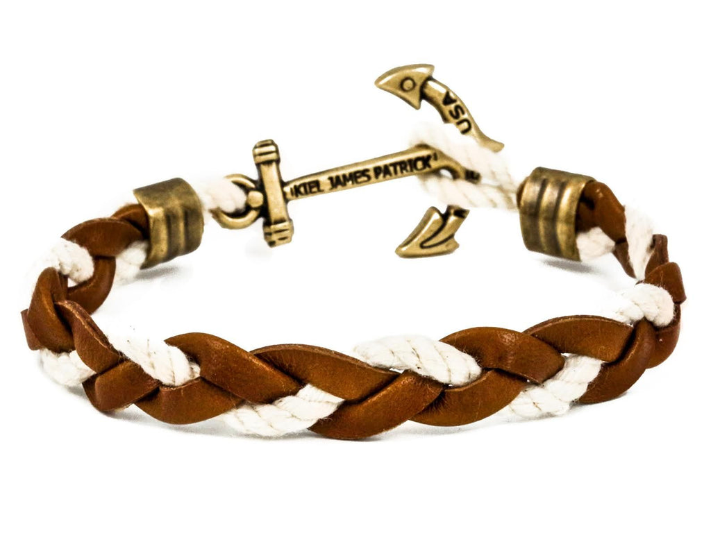 Boat Deck Hammock - Kiel James Patrick Anchor Bracelet Made in the USA