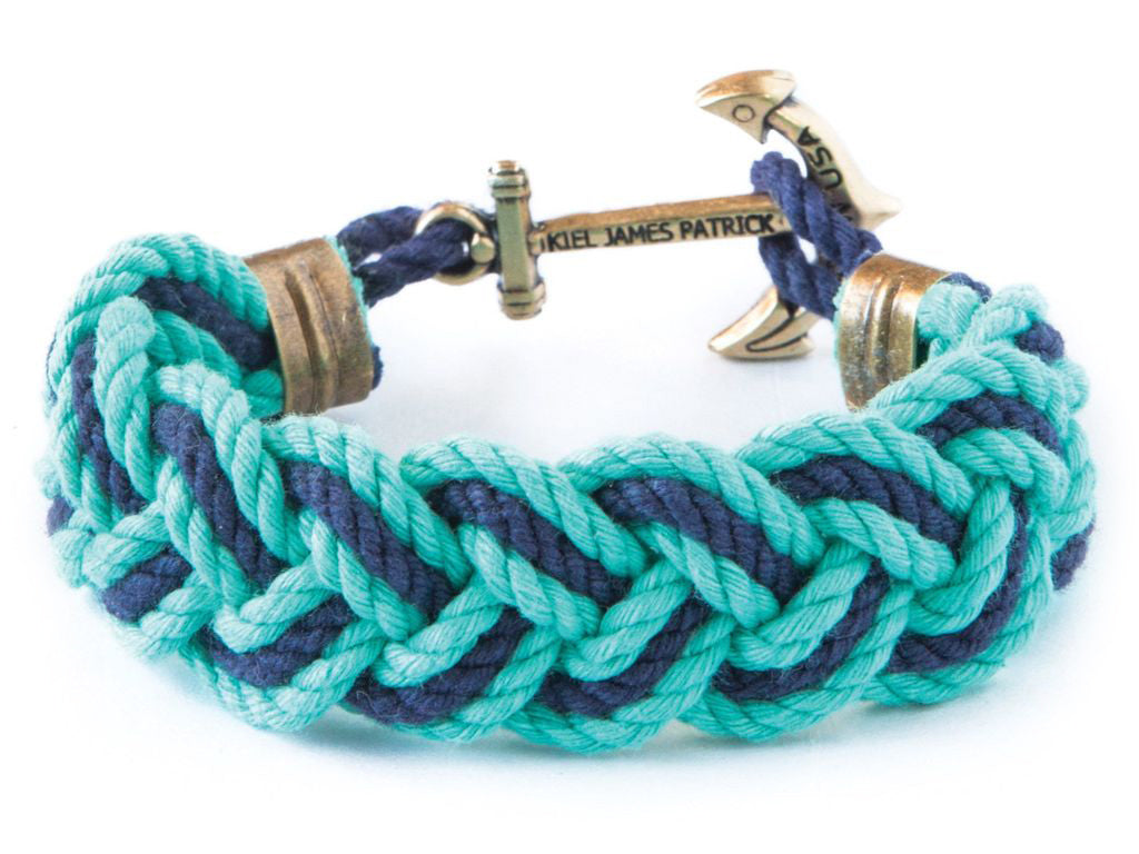 Boatyard Skipjack - Kiel James Patrick Anchor Bracelet Made in the USA