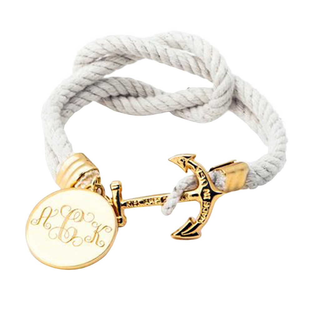 0878d7da17a Cape Knot Hitch Charm - Kiel James Patrick Anchor Bracelet Made in the USA